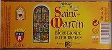 couverture biere Abbaye st martin