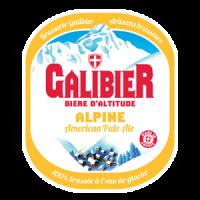 Etiquette Galibier alpine