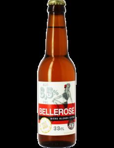 biere blonde bellerose , brasserie des sources